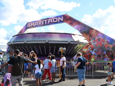 Wade Shows Inc Attractions Gravitron